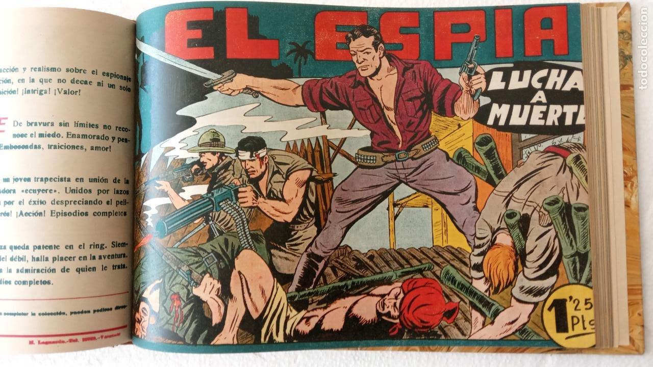 Tebeos: EL ESPÍA ORIGINAL 1952 MAGA COMPLETA, POR JOSÉ ORTIZ, VICENTE RAMOS ETC. - Foto 55 - 233836050