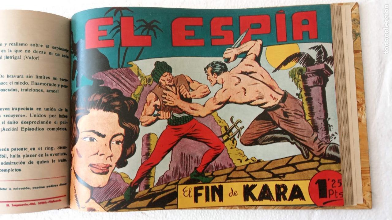 Tebeos: EL ESPÍA ORIGINAL 1952 MAGA COMPLETA, POR JOSÉ ORTIZ, VICENTE RAMOS ETC. - Foto 59 - 233836050