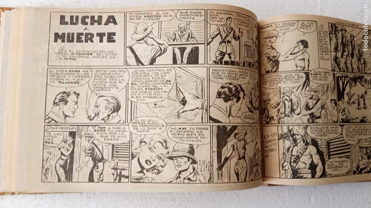 Tebeos: EL ESPÍA ORIGINAL 1952 MAGA COMPLETA, POR JOSÉ ORTIZ, VICENTE RAMOS ETC. - Foto 60 - 233836050