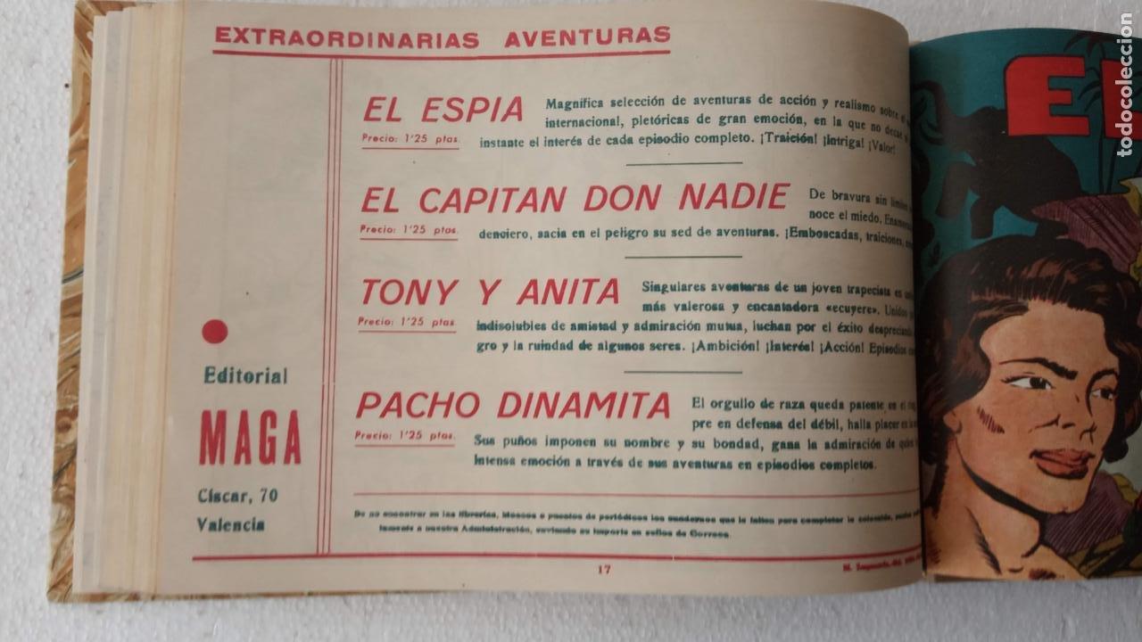Tebeos: EL ESPÍA ORIGINAL 1952 MAGA COMPLETA, POR JOSÉ ORTIZ, VICENTE RAMOS ETC. - Foto 61 - 233836050