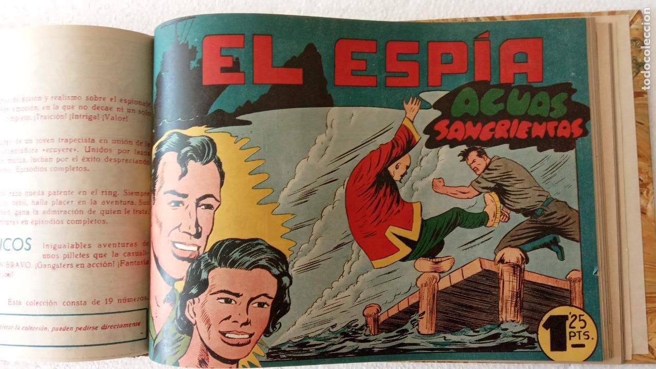 Tebeos: EL ESPÍA ORIGINAL 1952 MAGA COMPLETA, POR JOSÉ ORTIZ, VICENTE RAMOS ETC. - Foto 67 - 233836050