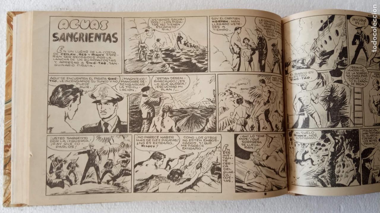 Tebeos: EL ESPÍA ORIGINAL 1952 MAGA COMPLETA, POR JOSÉ ORTIZ, VICENTE RAMOS ETC. - Foto 68 - 233836050