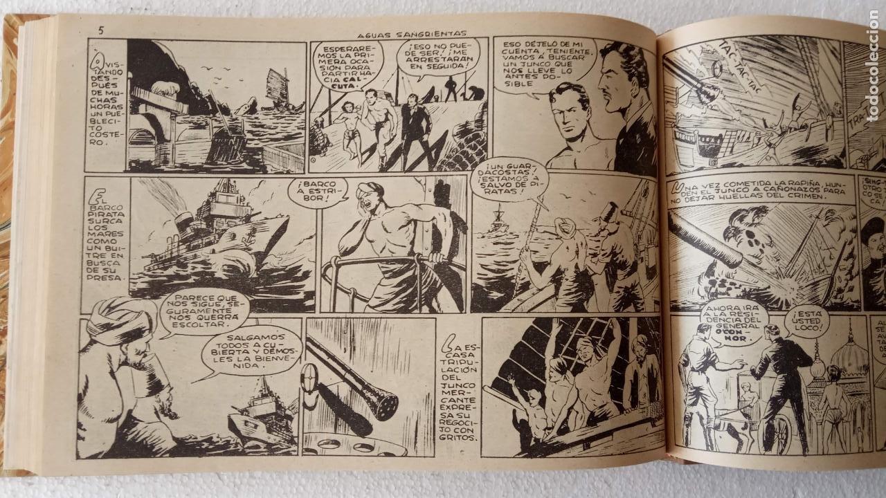 Tebeos: EL ESPÍA ORIGINAL 1952 MAGA COMPLETA, POR JOSÉ ORTIZ, VICENTE RAMOS ETC. - Foto 70 - 233836050