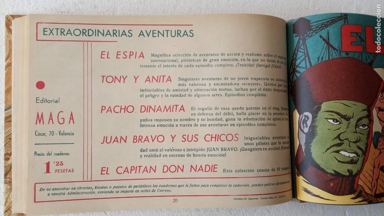 Tebeos: EL ESPÍA ORIGINAL 1952 MAGA COMPLETA, POR JOSÉ ORTIZ, VICENTE RAMOS ETC. - Foto 71 - 233836050