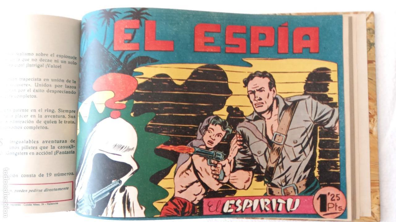 Tebeos: EL ESPÍA ORIGINAL 1952 MAGA COMPLETA, POR JOSÉ ORTIZ, VICENTE RAMOS ETC. - Foto 72 - 233836050
