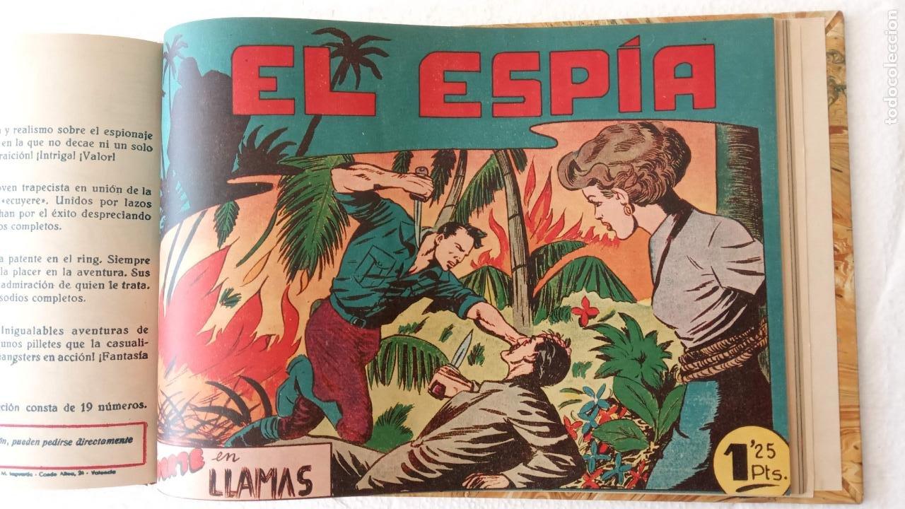 Tebeos: EL ESPÍA ORIGINAL 1952 MAGA COMPLETA, POR JOSÉ ORTIZ, VICENTE RAMOS ETC. - Foto 74 - 233836050