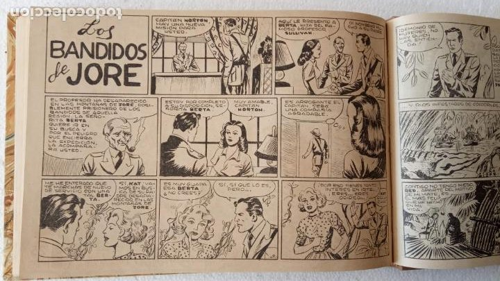 Tebeos: EL ESPÍA ORIGINAL 1952 MAGA COMPLETA, POR JOSÉ ORTIZ, VICENTE RAMOS ETC. - Foto 76 - 233836050
