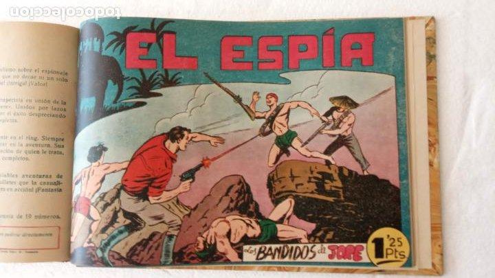 Tebeos: EL ESPÍA ORIGINAL 1952 MAGA COMPLETA, POR JOSÉ ORTIZ, VICENTE RAMOS ETC. - Foto 77 - 233836050