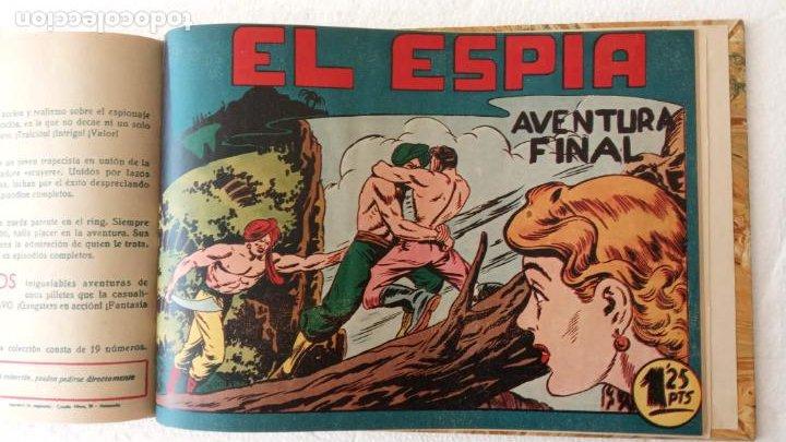Tebeos: EL ESPÍA ORIGINAL 1952 MAGA COMPLETA, POR JOSÉ ORTIZ, VICENTE RAMOS ETC. - Foto 81 - 233836050