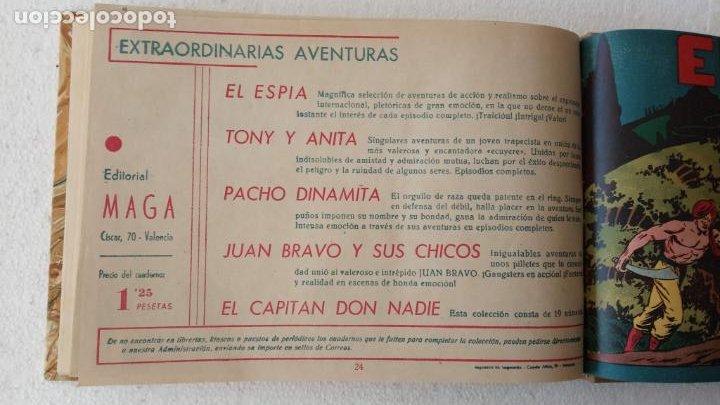 Tebeos: EL ESPÍA ORIGINAL 1952 MAGA COMPLETA, POR JOSÉ ORTIZ, VICENTE RAMOS ETC. - Foto 82 - 233836050
