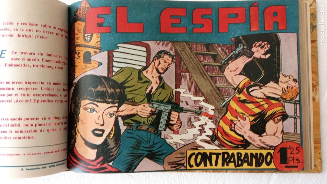 Tebeos: EL ESPÍA ORIGINAL 1952 MAGA COMPLETA, POR JOSÉ ORTIZ, VICENTE RAMOS ETC. - Foto 88 - 233836050