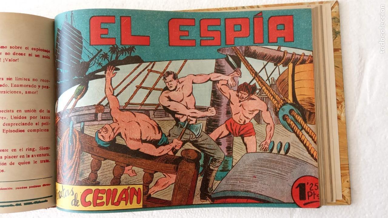 Tebeos: EL ESPÍA ORIGINAL 1952 MAGA COMPLETA, POR JOSÉ ORTIZ, VICENTE RAMOS ETC. - Foto 90 - 233836050