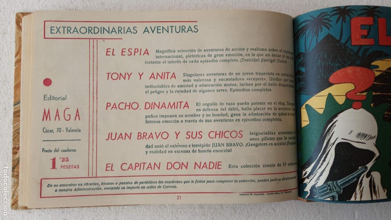 Tebeos: EL ESPÍA ORIGINAL 1952 MAGA COMPLETA, POR JOSÉ ORTIZ, VICENTE RAMOS ETC. - Foto 91 - 233836050