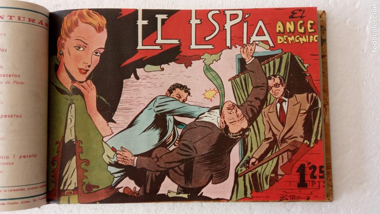 EL ESPÍA ORIGINAL 1952 MAGA COMPLETA, POR JOSÉ ORTIZ, VICENTE RAMOS ETC. (Tebeos y Comics - Maga - Otros)