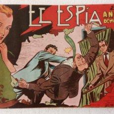 Tebeos: EL ESPÍA ORIGINAL 1952 MAGA COMPLETA, POR JOSÉ ORTIZ, VICENTE RAMOS ETC.. Lote 233836050