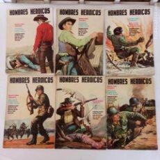 Tebeos: HOMBRES HEROICOS EDI. MAGA 1962 - 1,2,3,5,6,8 -. Lote 233929735