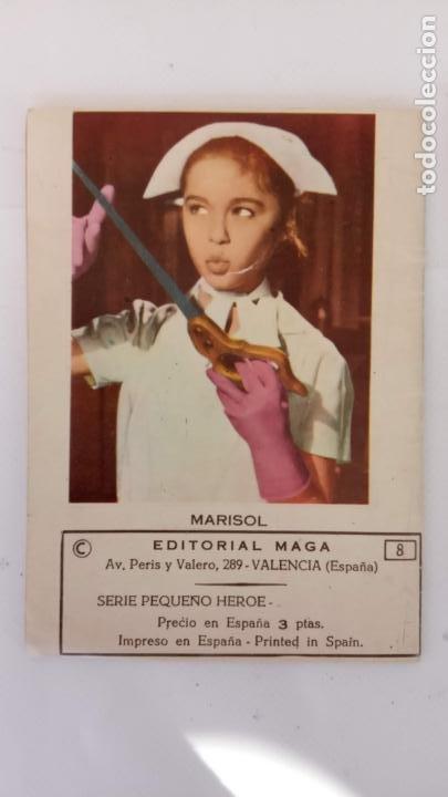 Tebeos: HOMBRES HERÓICOS EDI. MAGA 1962 - 16 X 12 CMS. NºS 4,7,8 - Foto 2 - 233930650