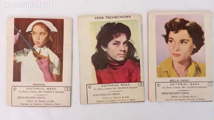 Tebeos: HOMBRES HERÓICOS EDI. MAGA 1962 - 16 X 12 CMS. NºS 4,7,8 - Foto 3 - 233930650