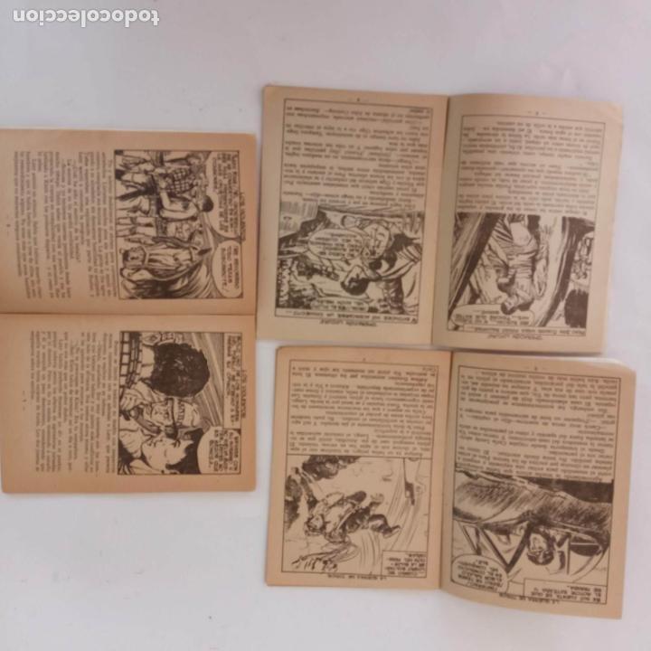 Tebeos: HOMBRES HERÓICOS EDI. MAGA 1962 - 16 X 12 CMS. NºS 4,7,8 - Foto 5 - 233930650