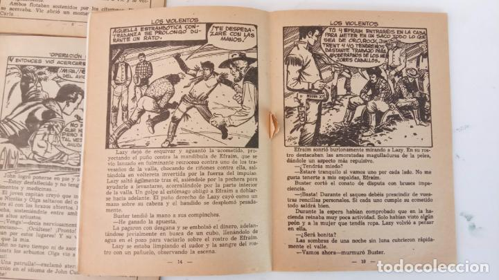 Tebeos: HOMBRES HERÓICOS EDI. MAGA 1962 - 16 X 12 CMS. NºS 4,7,8 - Foto 6 - 233930650