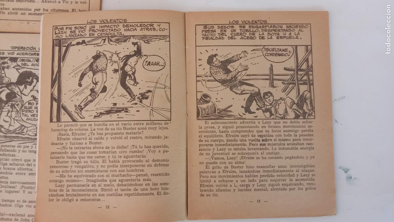 Tebeos: HOMBRES HERÓICOS EDI. MAGA 1962 - 16 X 12 CMS. NºS 4,7,8 - Foto 7 - 233930650