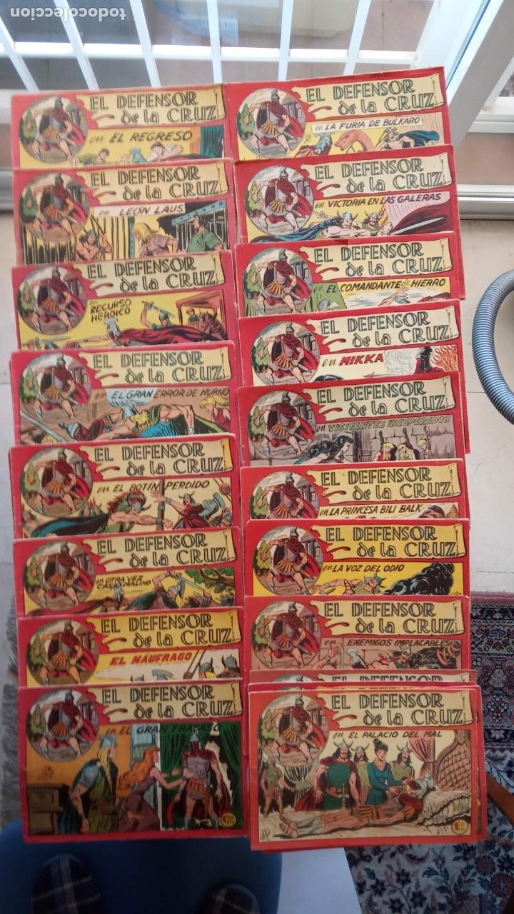 Tebeos: EL DEFENSOR DE LA CRUZ ORIGINAL - MAGA 1956 -32 NºS, 54,52,51,49,47,45, 33 A 40, 19 A 31, 15,14,6,5 - Foto 3 - 233984545