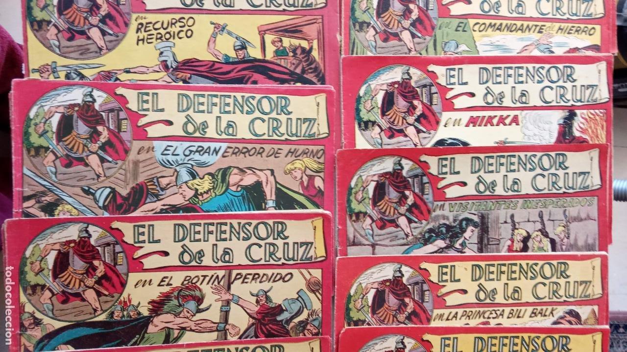 Tebeos: EL DEFENSOR DE LA CRUZ ORIGINAL - MAGA 1956 -32 NºS, 54,52,51,49,47,45, 33 A 40, 19 A 31, 15,14,6,5 - Foto 4 - 233984545