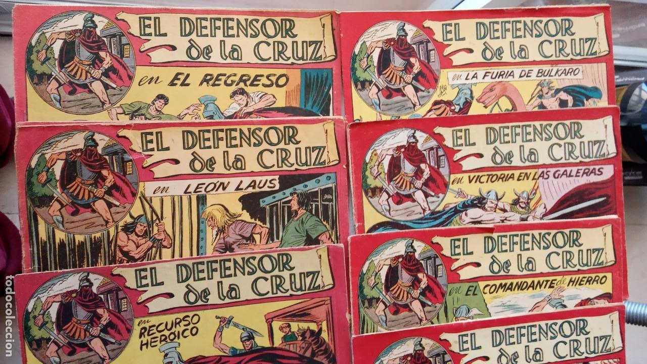Tebeos: EL DEFENSOR DE LA CRUZ ORIGINAL - MAGA 1956 -32 NºS, 54,52,51,49,47,45, 33 A 40, 19 A 31, 15,14,6,5 - Foto 5 - 233984545