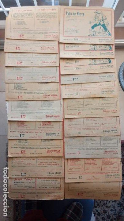 Tebeos: EL DEFENSOR DE LA CRUZ ORIGINAL - MAGA 1956 -32 NºS, 54,52,51,49,47,45, 33 A 40, 19 A 31, 15,14,6,5 - Foto 6 - 233984545