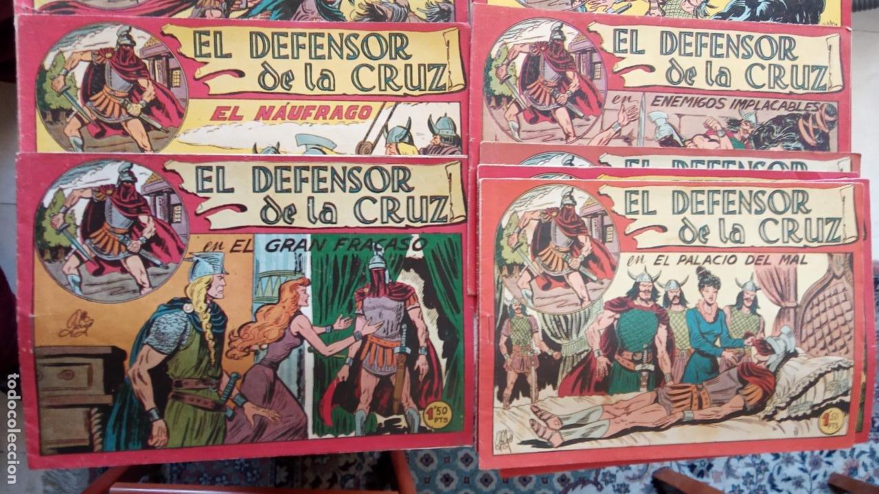 Tebeos: EL DEFENSOR DE LA CRUZ ORIGINAL - MAGA 1956 -32 NºS, 54,52,51,49,47,45, 33 A 40, 19 A 31, 15,14,6,5 - Foto 7 - 233984545