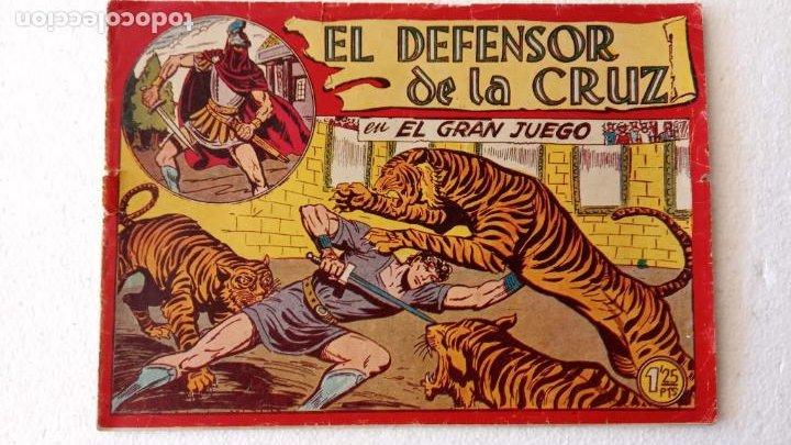 Tebeos: EL DEFENSOR DE LA CRUZ ORIGINAL - MAGA 1956 -32 NºS, 54,52,51,49,47,45, 33 A 40, 19 A 31, 15,14,6,5 - Foto 8 - 233984545