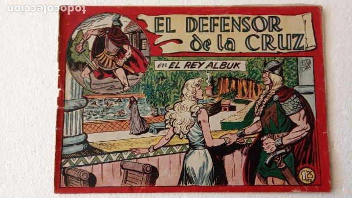 Tebeos: EL DEFENSOR DE LA CRUZ ORIGINAL - MAGA 1956 -32 NºS, 54,52,51,49,47,45, 33 A 40, 19 A 31, 15,14,6,5 - Foto 11 - 233984545