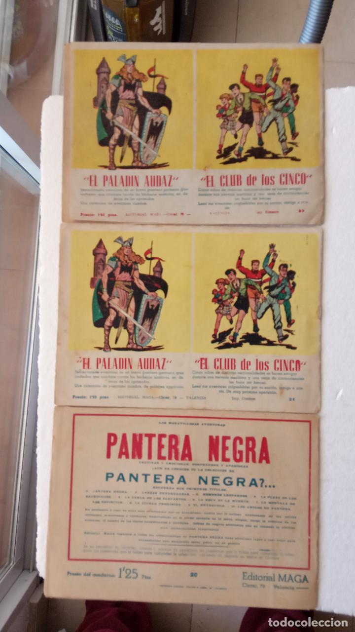 Tebeos: EL DEFENSOR DE LA CRUZ ORIGINAL - MAGA 1956 -32 NºS, 54,52,51,49,47,45, 33 A 40, 19 A 31, 15,14,6,5 - Foto 12 - 233984545