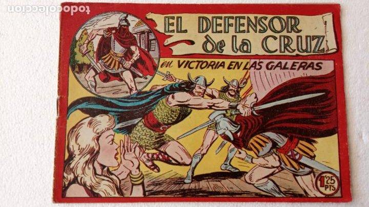 Tebeos: EL DEFENSOR DE LA CRUZ ORIGINAL - MAGA 1956 -32 NºS, 54,52,51,49,47,45, 33 A 40, 19 A 31, 15,14,6,5 - Foto 13 - 233984545