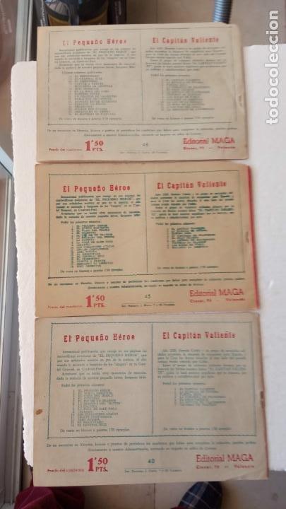 Tebeos: EL DEFENSOR DE LA CRUZ ORIGINAL - MAGA 1956 -32 NºS, 54,52,51,49,47,45, 33 A 40, 19 A 31, 15,14,6,5 - Foto 14 - 233984545
