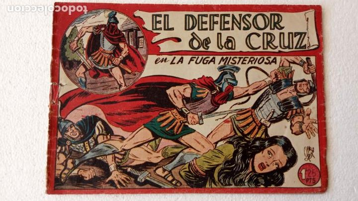 Tebeos: EL DEFENSOR DE LA CRUZ ORIGINAL - MAGA 1956 -32 NºS, 54,52,51,49,47,45, 33 A 40, 19 A 31, 15,14,6,5 - Foto 15 - 233984545