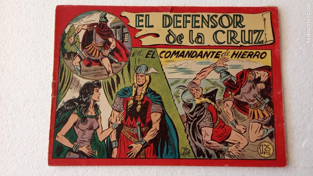 Tebeos: EL DEFENSOR DE LA CRUZ ORIGINAL - MAGA 1956 -32 NºS, 54,52,51,49,47,45, 33 A 40, 19 A 31, 15,14,6,5 - Foto 16 - 233984545