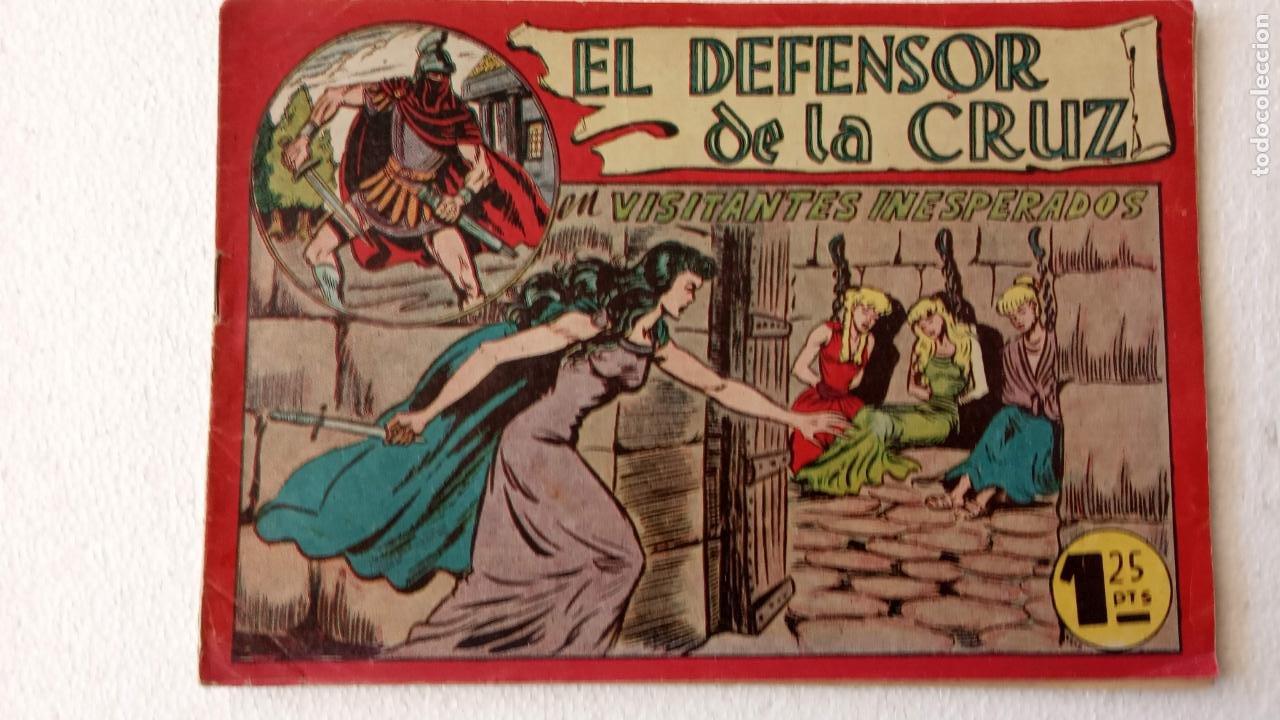 Tebeos: EL DEFENSOR DE LA CRUZ ORIGINAL - MAGA 1956 -32 NºS, 54,52,51,49,47,45, 33 A 40, 19 A 31, 15,14,6,5 - Foto 18 - 233984545