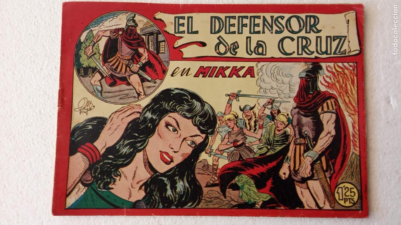 Tebeos: EL DEFENSOR DE LA CRUZ ORIGINAL - MAGA 1956 -32 NºS, 54,52,51,49,47,45, 33 A 40, 19 A 31, 15,14,6,5 - Foto 20 - 233984545