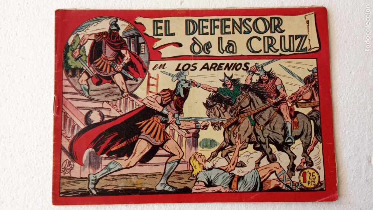 Tebeos: EL DEFENSOR DE LA CRUZ ORIGINAL - MAGA 1956 -32 NºS, 54,52,51,49,47,45, 33 A 40, 19 A 31, 15,14,6,5 - Foto 21 - 233984545