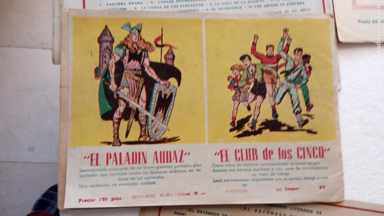 Tebeos: EL DEFENSOR DE LA CRUZ ORIGINAL - MAGA 1956 -32 NºS, 54,52,51,49,47,45, 33 A 40, 19 A 31, 15,14,6,5 - Foto 24 - 233984545