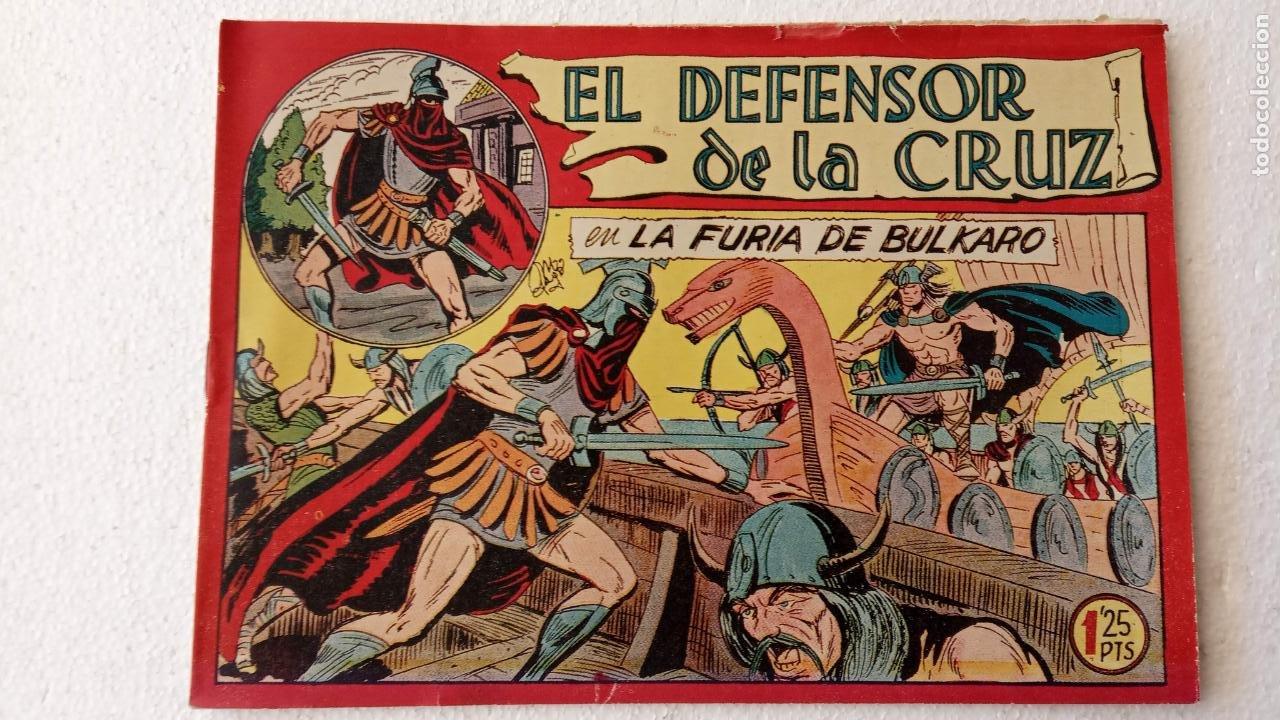 Tebeos: EL DEFENSOR DE LA CRUZ ORIGINAL - MAGA 1956 -32 NºS, 54,52,51,49,47,45, 33 A 40, 19 A 31, 15,14,6,5 - Foto 25 - 233984545