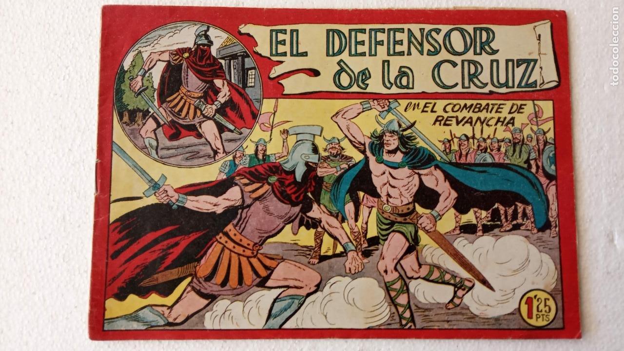 Tebeos: EL DEFENSOR DE LA CRUZ ORIGINAL - MAGA 1956 -32 NºS, 54,52,51,49,47,45, 33 A 40, 19 A 31, 15,14,6,5 - Foto 26 - 233984545