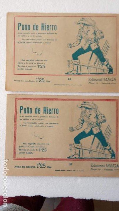 Tebeos: EL DEFENSOR DE LA CRUZ ORIGINAL - MAGA 1956 -32 NºS, 54,52,51,49,47,45, 33 A 40, 19 A 31, 15,14,6,5 - Foto 27 - 233984545