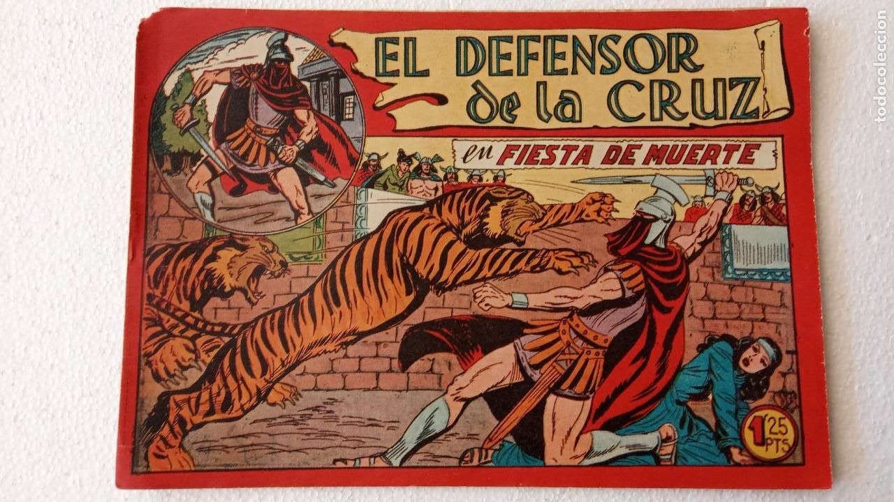 Tebeos: EL DEFENSOR DE LA CRUZ ORIGINAL - MAGA 1956 -32 NºS, 54,52,51,49,47,45, 33 A 40, 19 A 31, 15,14,6,5 - Foto 28 - 233984545