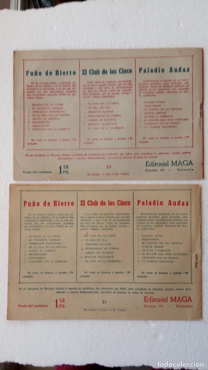 Tebeos: EL DEFENSOR DE LA CRUZ ORIGINAL - MAGA 1956 -32 NºS, 54,52,51,49,47,45, 33 A 40, 19 A 31, 15,14,6,5 - Foto 30 - 233984545