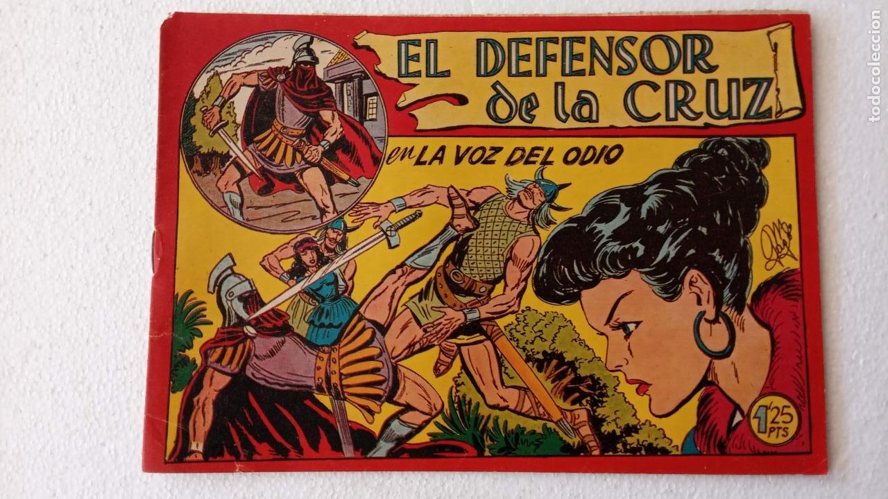Tebeos: EL DEFENSOR DE LA CRUZ ORIGINAL - MAGA 1956 -32 NºS, 54,52,51,49,47,45, 33 A 40, 19 A 31, 15,14,6,5 - Foto 34 - 233984545