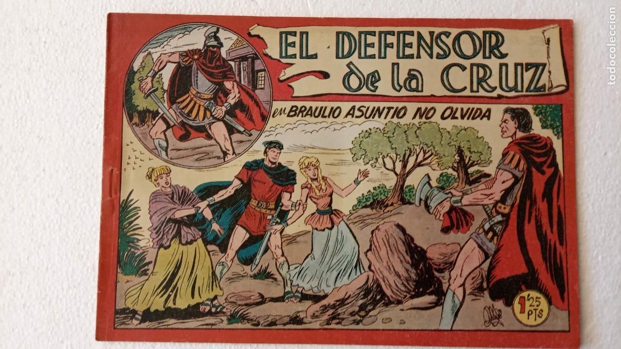 Tebeos: EL DEFENSOR DE LA CRUZ ORIGINAL - MAGA 1956 -32 NºS, 54,52,51,49,47,45, 33 A 40, 19 A 31, 15,14,6,5 - Foto 36 - 233984545