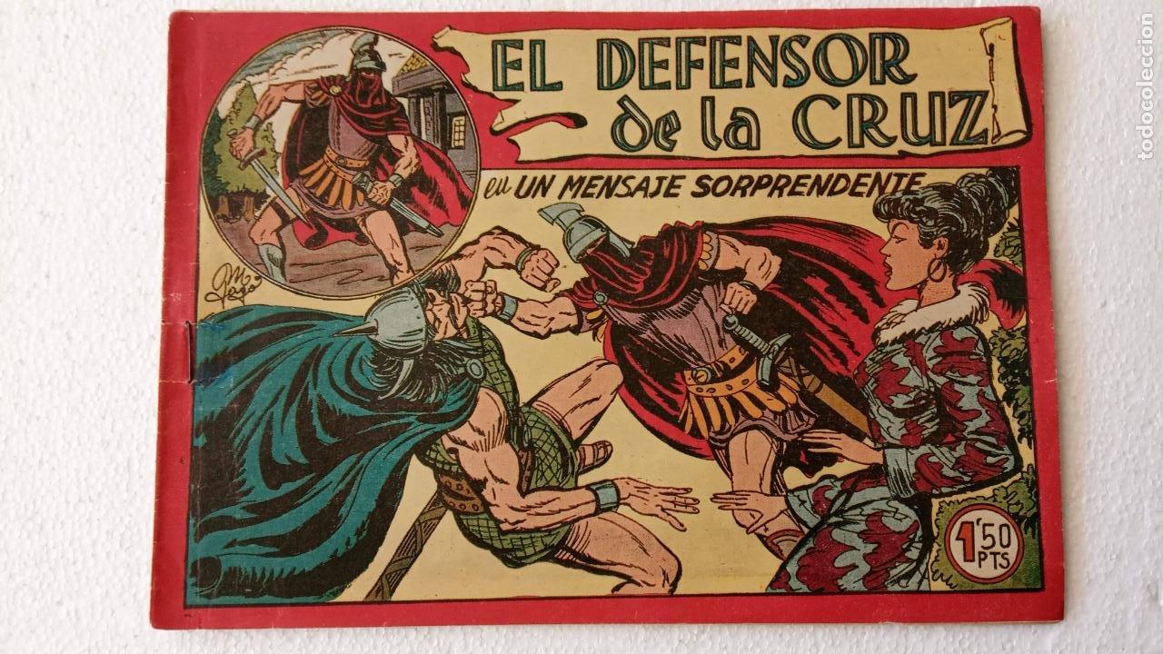 Tebeos: EL DEFENSOR DE LA CRUZ ORIGINAL - MAGA 1956 -32 NºS, 54,52,51,49,47,45, 33 A 40, 19 A 31, 15,14,6,5 - Foto 37 - 233984545