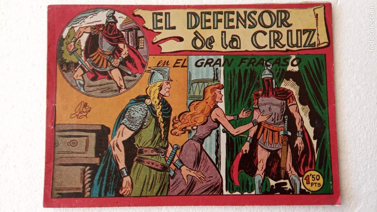 Tebeos: EL DEFENSOR DE LA CRUZ ORIGINAL - MAGA 1956 -32 NºS, 54,52,51,49,47,45, 33 A 40, 19 A 31, 15,14,6,5 - Foto 38 - 233984545